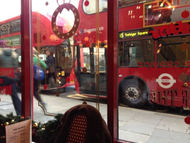 Image: London double-decker bus